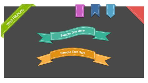 15  PSD Web Ribbons For Free Download   365 Web Resources