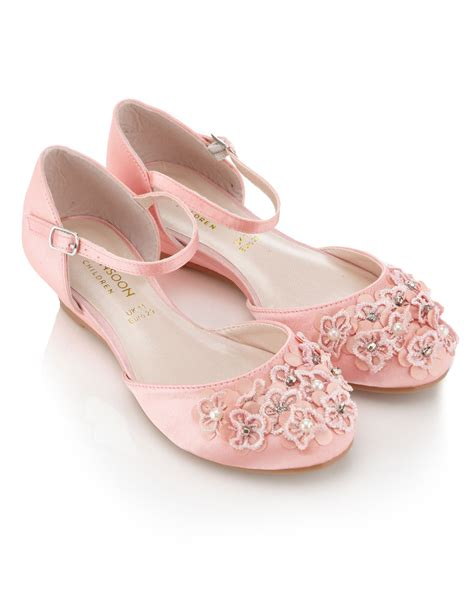 flower pink shoes pink flower shoes monsoon 163 25 flower