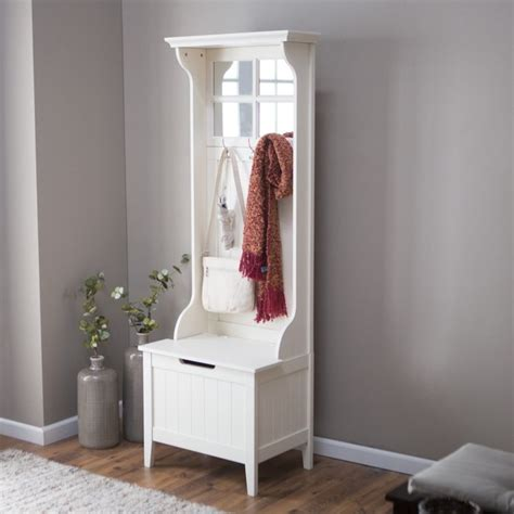 slim entryway storage entryway storage bench with coat rack narrow