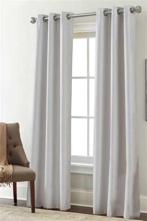 light grey drapes colonial home textiles textured blackout curtain set