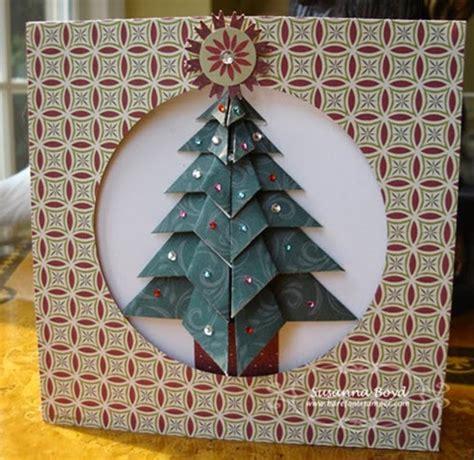 Tea Bag Origami - origami maniacs tea bag folding tree card