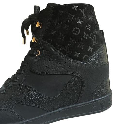 Sneaker Lv Trocadero Monogram Eclipse louis vuitton black sneaker boots heels wedges size us 6 regular m b tradesy