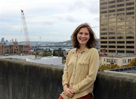 Live Love And Laugh by Amanda Knox People Love The Idea Of A Monster Kuow