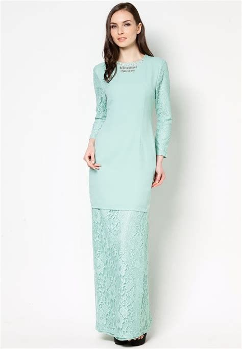 Baju Dress New 2017 tunang vercato keira lace kurung wedding idea favorite baju kurung kebaya