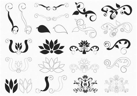 floral pattern brush photoshop decorative floral brushes free photoshop brushes at