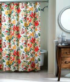 westport floral shower curtain traditional shower