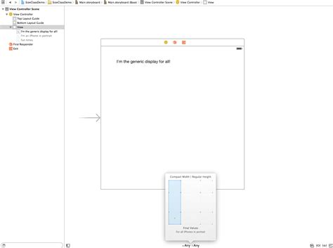 grid layout xcode class using size classes and autolayout in xcode 6
