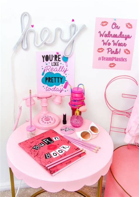 diy mean mean girls day diy jacket free printable poster brite