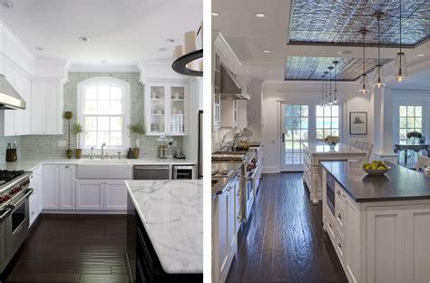 Kitchen Cabinets For Dark Floors » Home Design 2017