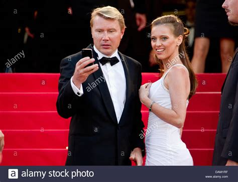 mika hakkinen film race car driver mika hakkinen and his girlfriend marketa