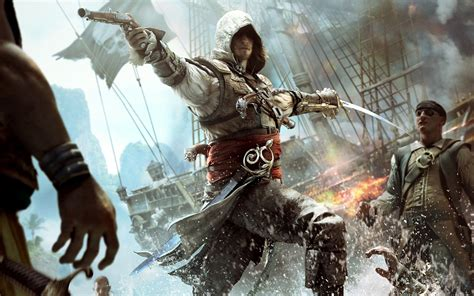 black flag assassins creed assassin s creed iv black flag wallpapers hd wallpapers id 12279