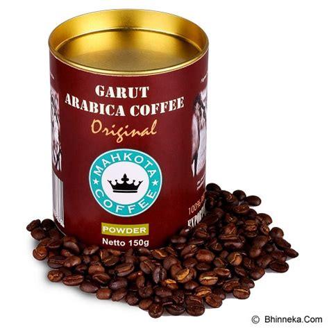 Kopi Arabika Grade 1 Garut Kp9 1 jual mahkota java coffe garut arabica coffee ground 150gr gacg01 murah bhinneka mobile