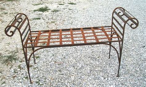 wrought iron benches indoor wrought iron king s bench 2 sizes outdoor indoor seating