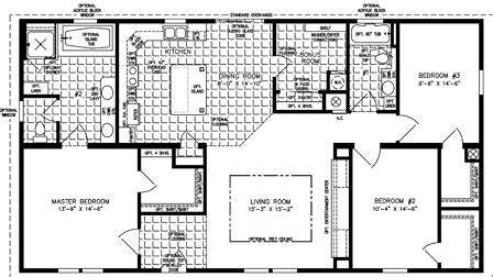 cp homes floor plans cp 2580 33988 1718 sq ft manufactured home