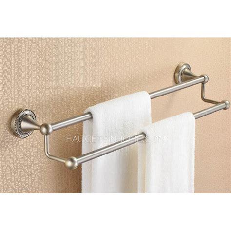 Bath Towel Bars Brushed Nickel Cheap Vintage Brushed Nickel Towel Bars And Accessories