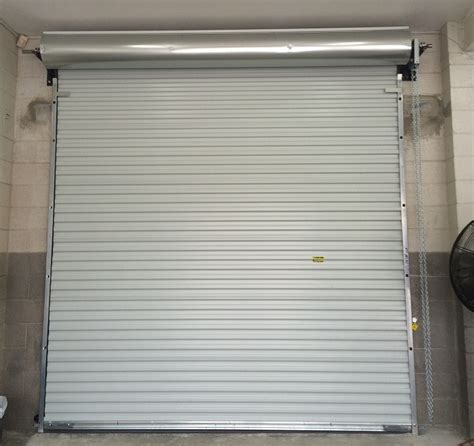 rollup garage door commercial roll up garage door installation psr