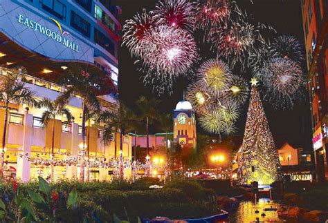 new year celebration in quezon city eastwood city the place to shop dine relax and