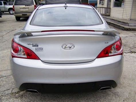 2010 Hyundai Genesis Coupe 3 8 For Sale by Buy Used 2010 Hyundai Genesis Coupe 3 8 Track Coupe 2 Door