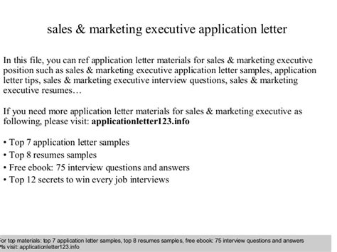 Application Letter Soal contoh application letter marketing executive 28 images