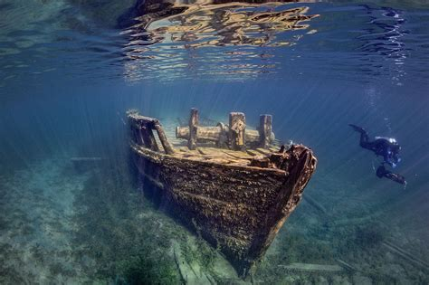 Canada Sweepstakes - wreck of the quot sweepstakes quot big tub harbour fathom five national marine park
