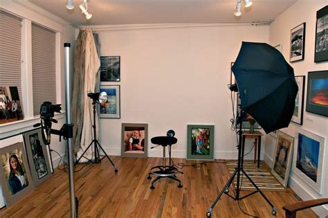 home studio design office bush park photography studio family room traditional