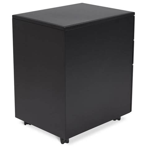 caisson bureau design caisson de bureau design 3 tiroirs mathias en m 233 tal noir