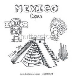 doodle god pyramid landmark icons stock images royalty free images vectors
