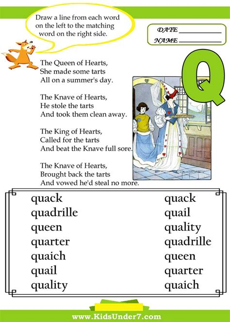 Word 6 Letters Beginning With Q 1000 Images About Letter Q On Preschool