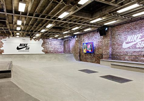 sb garage nike sb opens up the garage indoor skateboard park in