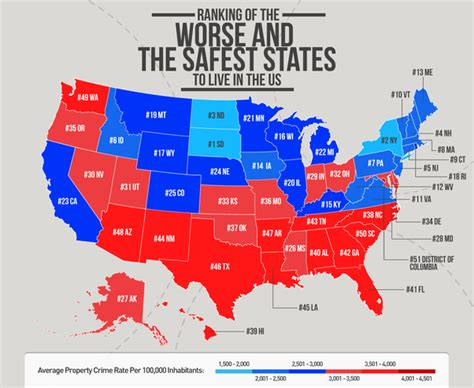 cheapest us states to live in where are safest and cheapest place to live from usa quora
