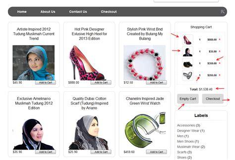 tutorial xpress kedai online kedai on line shopping cart my dengan checkout laman