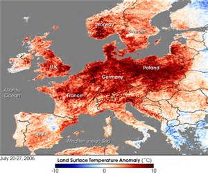 nasa visible earth heat wave in western europe