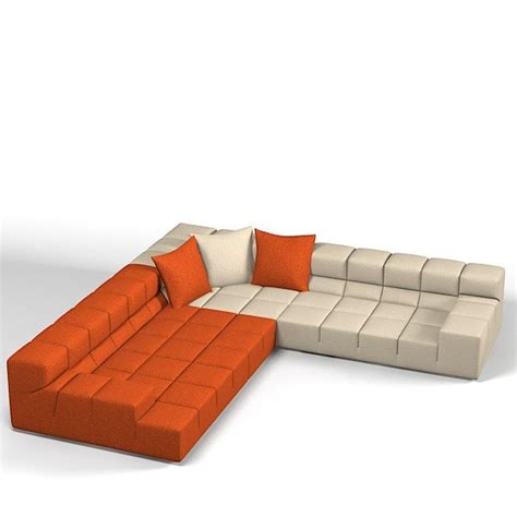 Modern Sectional by 3d Model B Itatlia Tufty Time