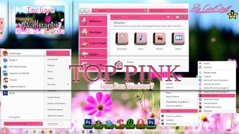themes girl for windows 7 top pink theme windows 7 n n by girlstuff15 on deviantart