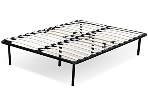 Yaheetech Metal Platform Bed Frame Wood Slats Support 5 Wood Bed Frame Support