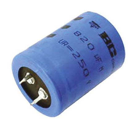vishay electrolytic capacitor lifetime mal215759471e3 vishay aluminium electrolytic capacitor 470μf 500v dc 35mm snap in 157 series