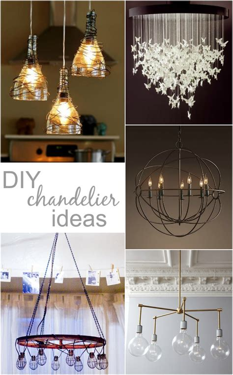Handmade Chandeliers Ideas 28 Images 20 Cool Diy Diy Chandelier Ideas