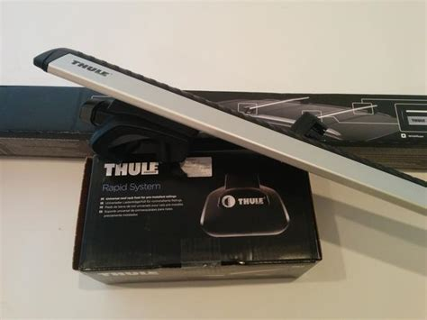 Thule Aeroblade Roof Rack Bars by Thule Universal Roof Rack System Aeroblade Bars Bike
