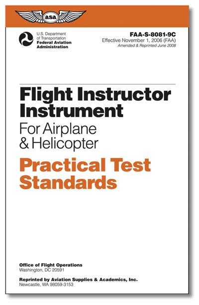 practical flying complete course of flying classic reprint books books faa btg987 practical test standards