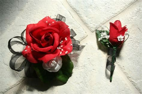 Handmade Corsage And Boutonniere - diy corsage and boutonniere wedding