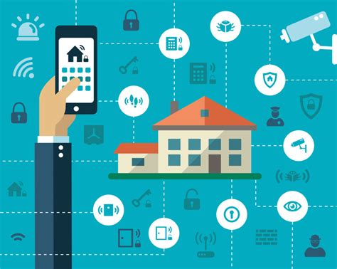 of things iot home automation smart homes