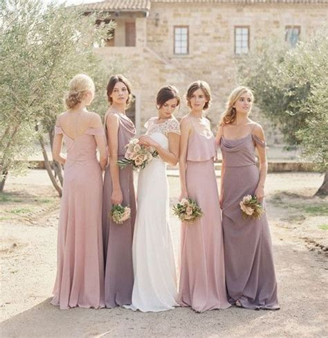 Best Bridesmaid Dresses by 10 Best Combinations For Mismatched Bridesmaid Dresses
