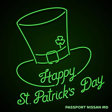 passport nissan md happy st s day from all of us at passport nissan