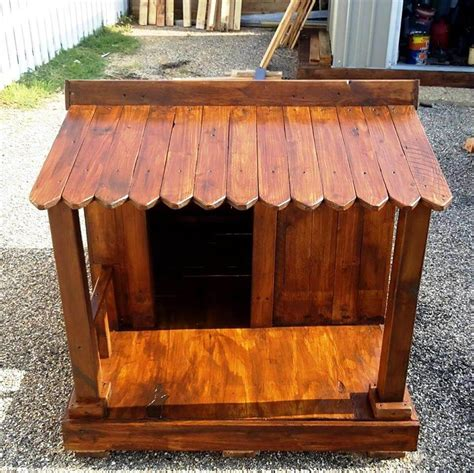 hand built dog houses wood pallet dog house plans numberedtype