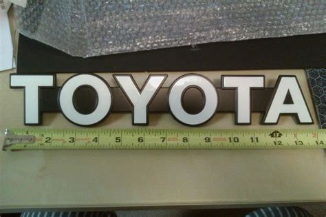 toyota logo for sale toyota tundra texas edition emblem for sale html autos