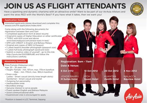 Wizz Air Cabin Crew Salary by Fly Gosh Air Asia Cabin Crew Walk In Johor