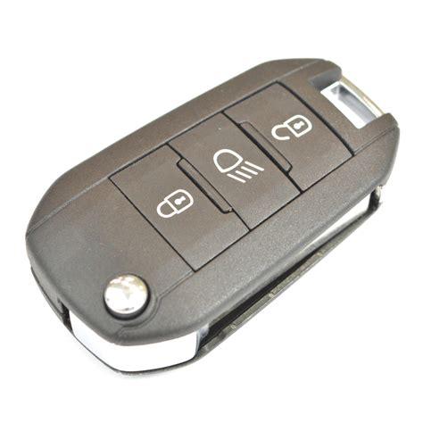 peugeot 307 key peugeot 208 2008 308 remote flip key