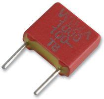 polyester pf capacitor fks2d011001a00kssd wima capacitor 1000 pf 100 v pet polyester 177 20 fks2 series