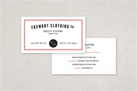 clothing store business card templates clothing company business card template inkd