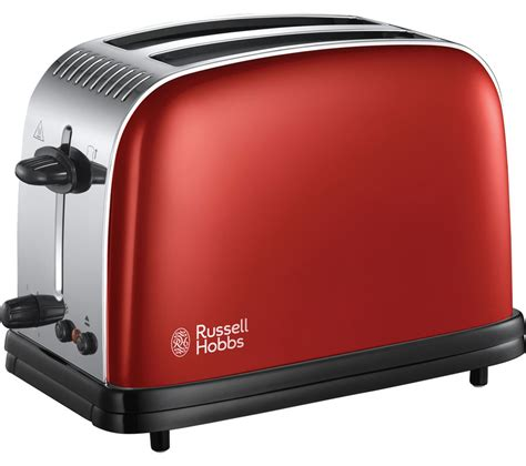 Russell Hobbs Toasters Buy Russell Hobbs Colours Plus 23330 2 Slice Toaster Red